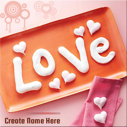 Create Your Name On Beautiful Love Picture